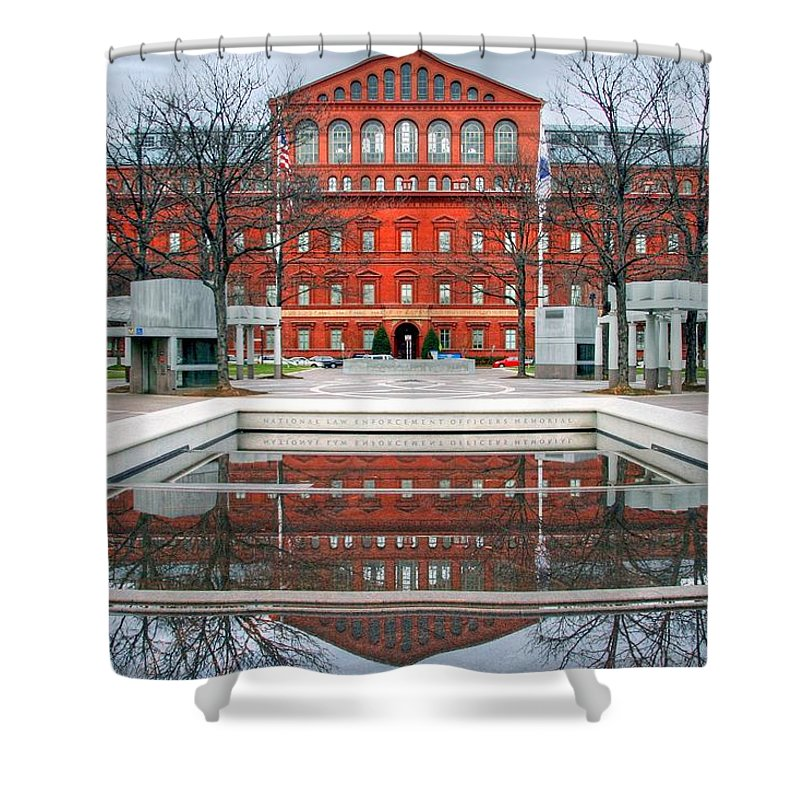 Architecture Shower Curtain featuring the photograph Architecture by Mitch Cat