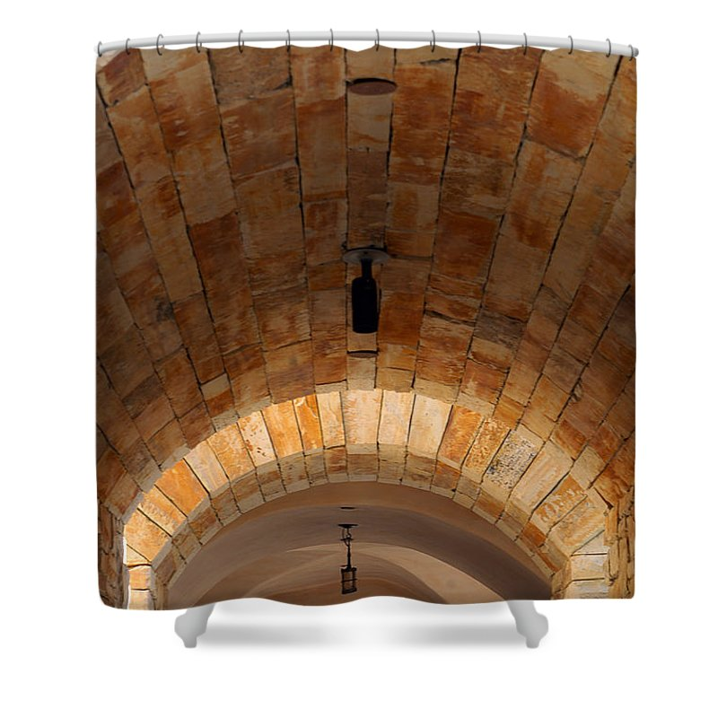 Architecture Shower Curtain featuring the photograph Archway by Jill Reger