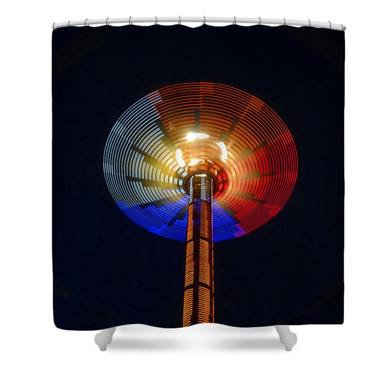 Modern Shower Curtain featuring the photograph Area 51 by David Lee Thompson
