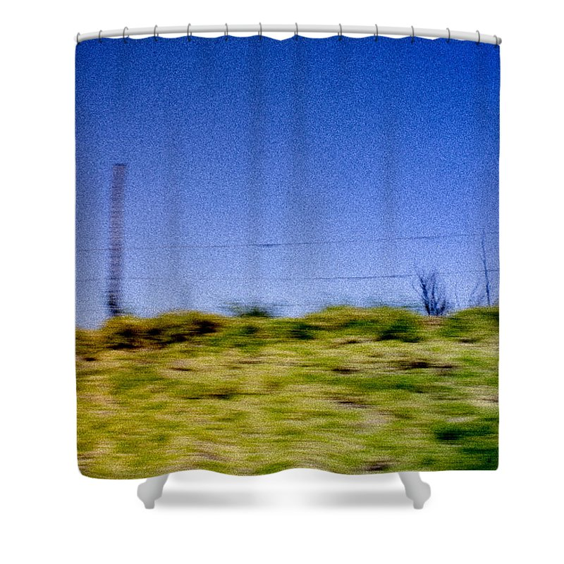 Landscape Shower Curtain featuring the photograph Arequipa by Macarena Puelles