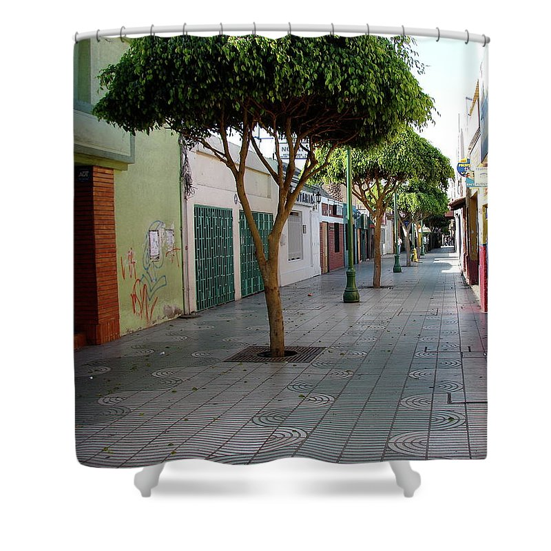 Arica Shower Curtain featuring the photograph Arica Chile by Brett Winn