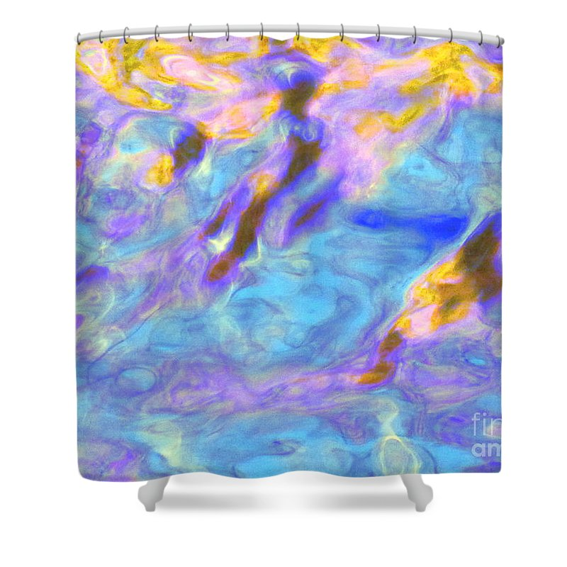 Abstract Shower Curtain featuring the photograph Love What Arises by Sybil Staples