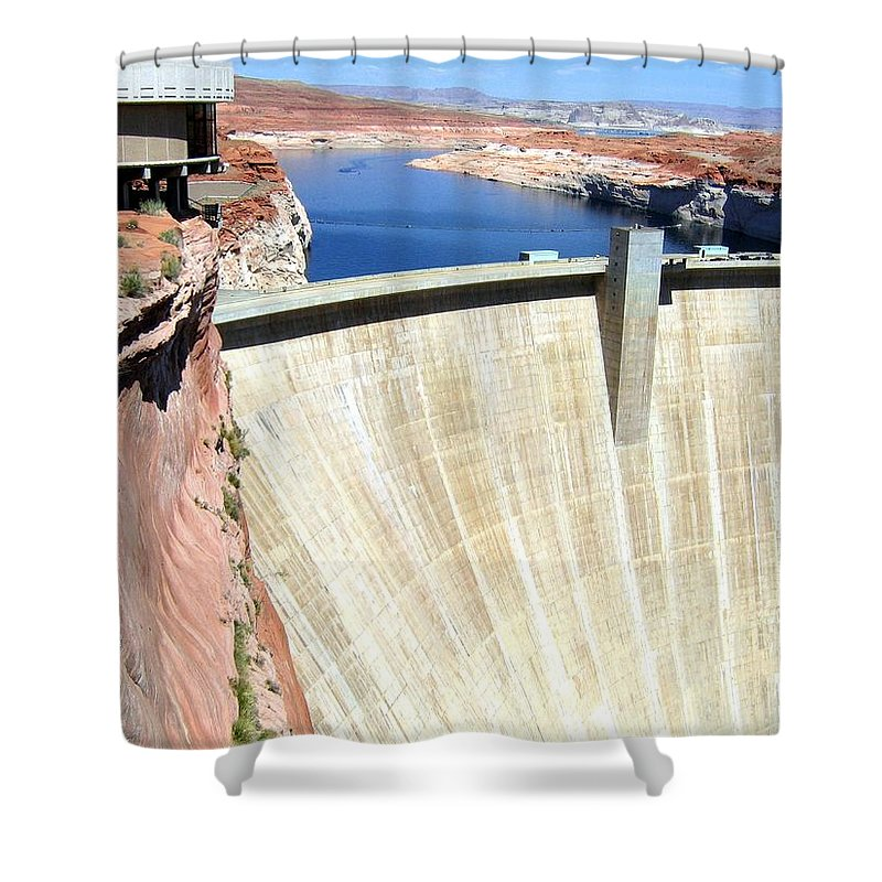 Arizona Shower Curtain featuring the photograph Arizona 20 by Will Borden