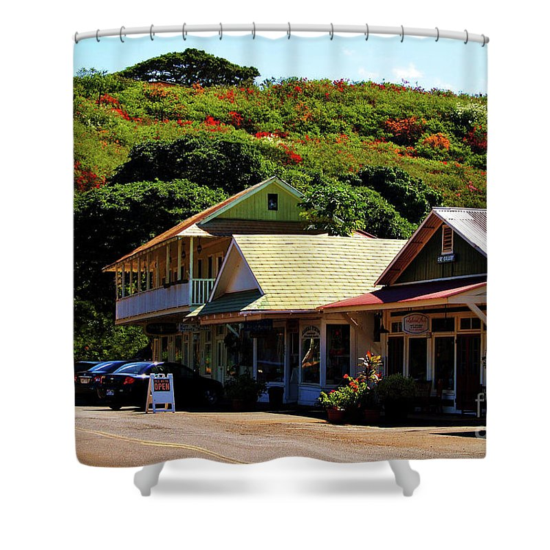 Hanapepe Shower Curtain featuring the photograph Art In Hanapepe by Patricia Griffin Brett