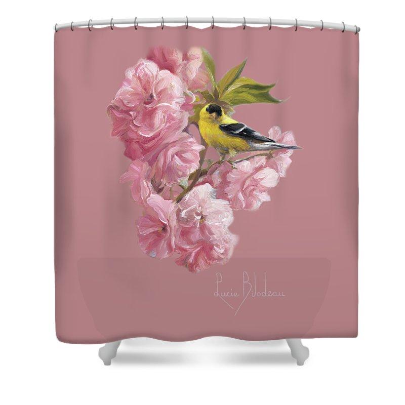 Finch Shower Curtains