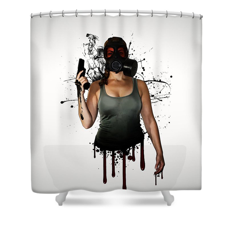 Zombies Shower Curtains