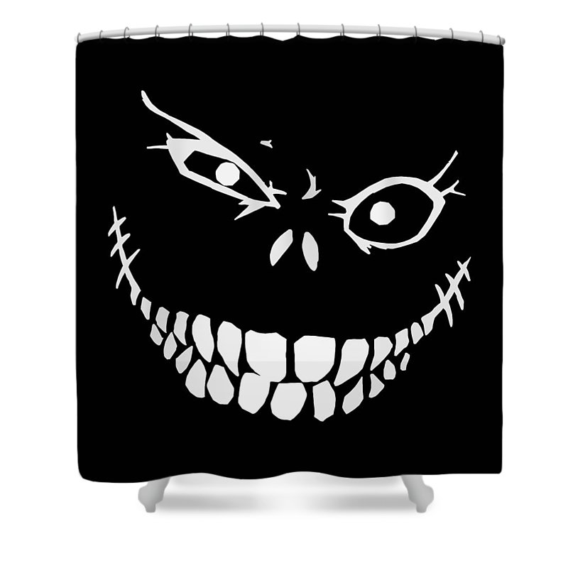 Creepy Shower Curtains