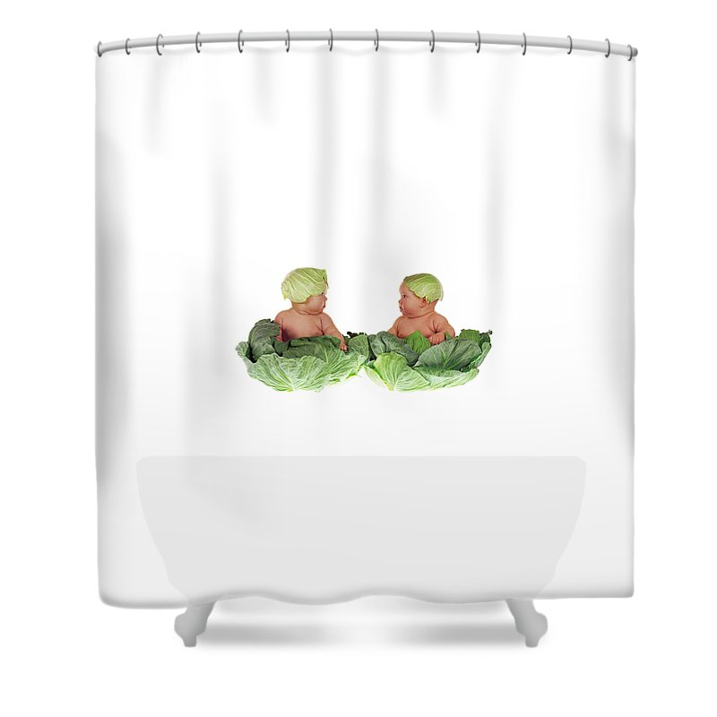 Cabbage Shower Curtains