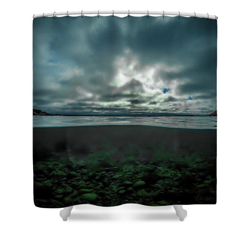 Underwater Shower Curtain featuring the photograph Hostsaga - Autumn tale by Nicklas Gustafsson