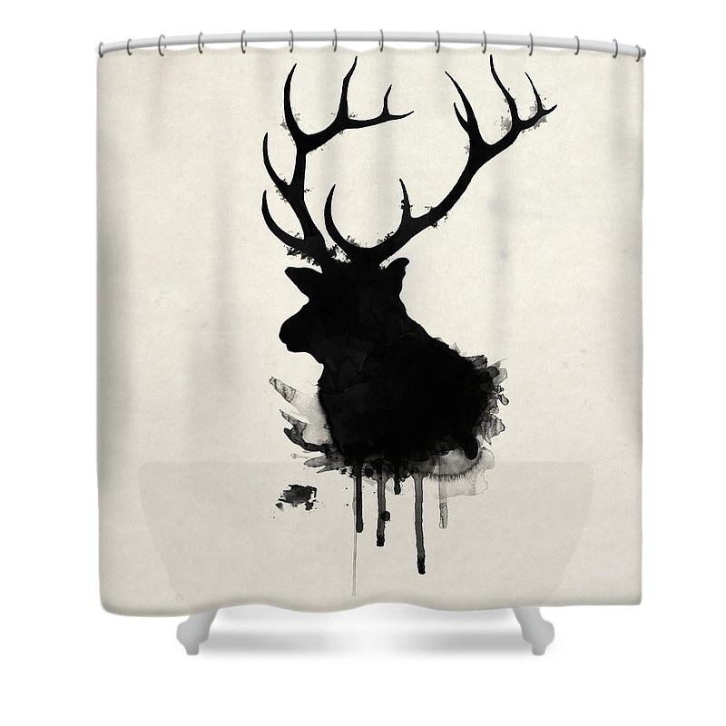 Moose Shower Curtains | Fine Art America