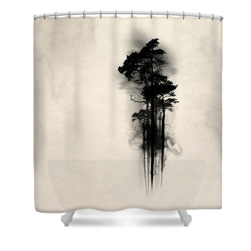 Woods Shower Curtains