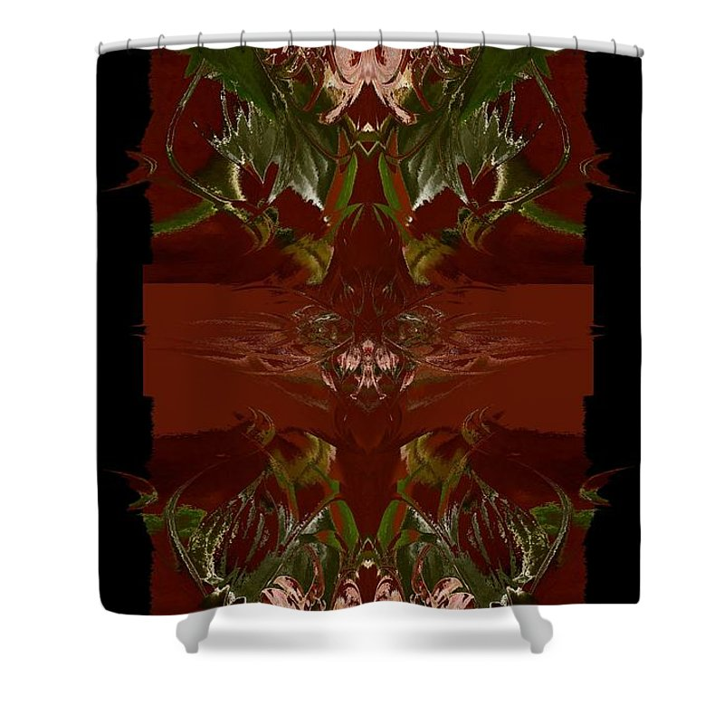 Asian Shower Curtain featuring the photograph Asian Spice by Beverly Ann Shelby