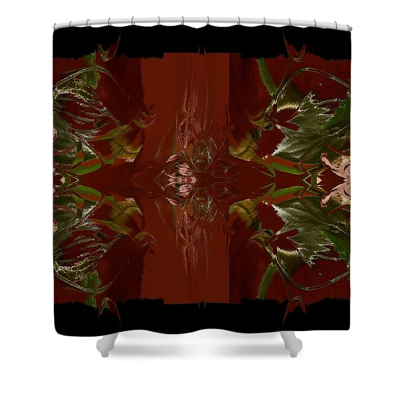 Asian Shower Curtain featuring the photograph Asian Spice Two by Beverly Ann Shelby