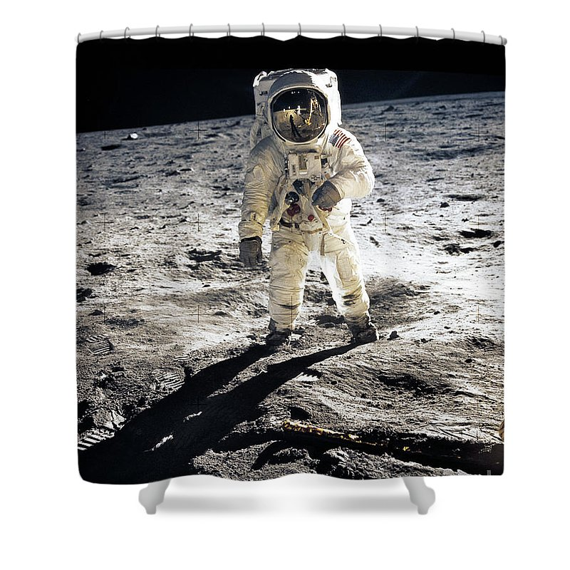Apollo 11 Shower Curtains