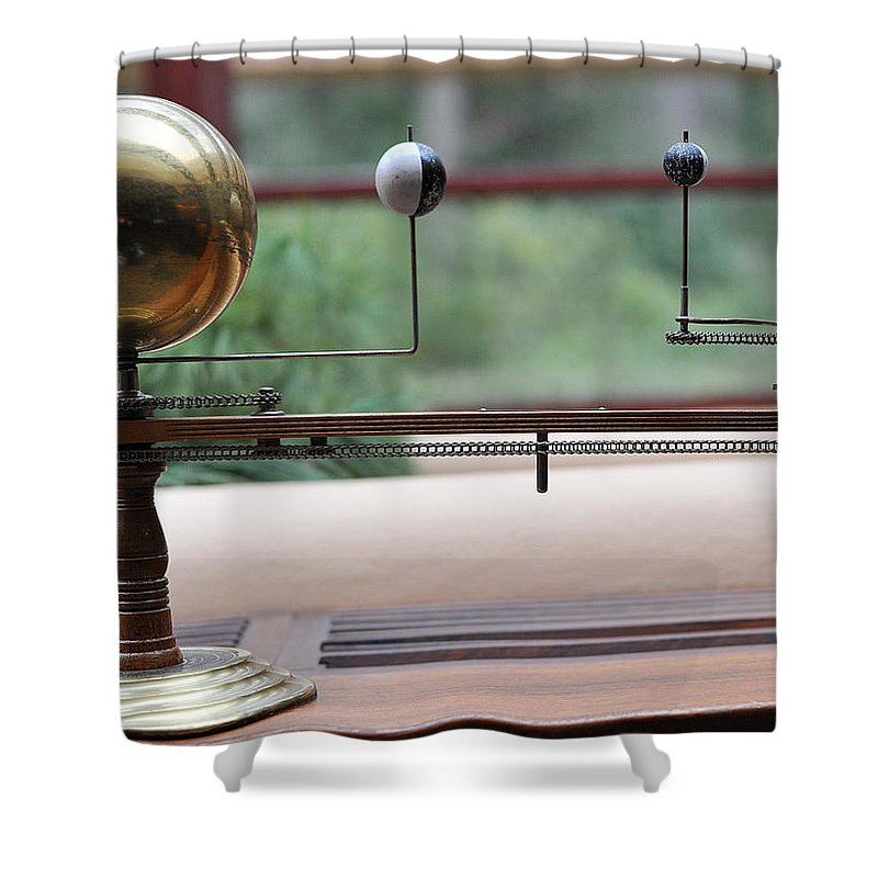 Astronomy Falling Water Shower Curtain featuring the photograph Astronomy Falling Water by Steve Archbold