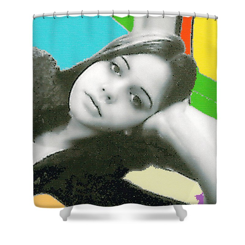 Relaxed Shower Curtain featuring the photograph At Ease by Bjorn Sjogren