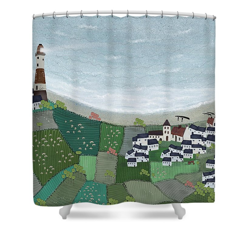 Sea Cow Shower Curtains