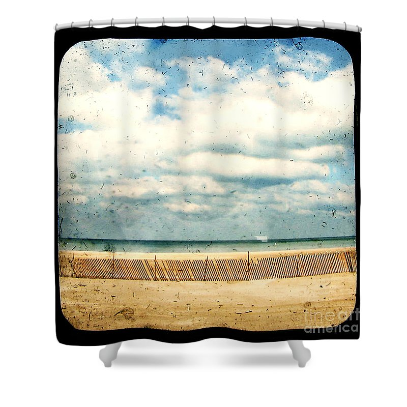 Ocea Shower Curtain featuring the photograph At Rest by Dana DiPasquale