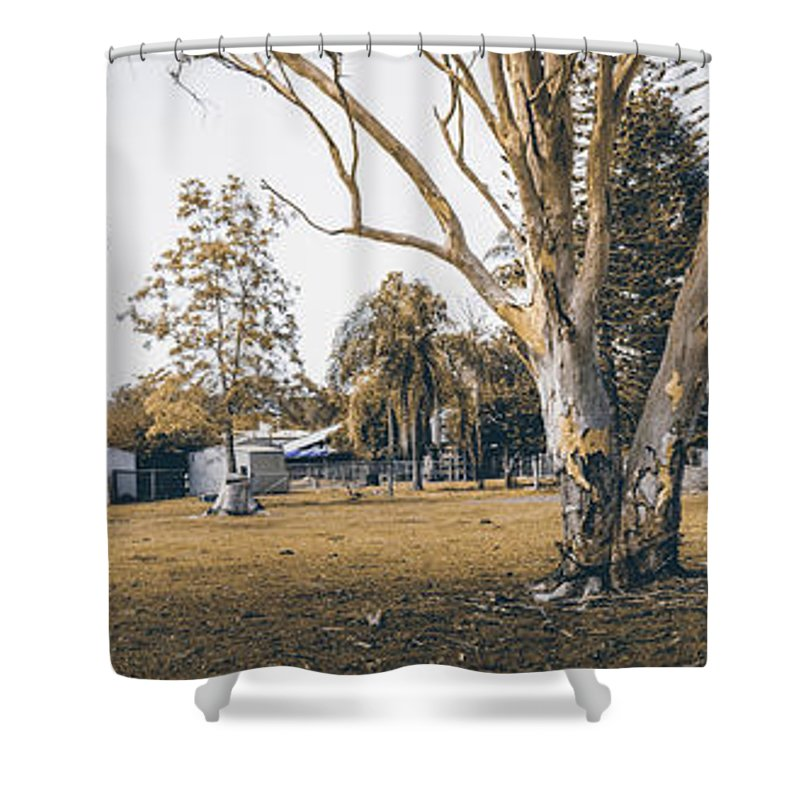 Landscape Shower Curtain featuring the photograph Australian Rural Countryside Landscape by Jorgo Photography - Wall Art Gallery