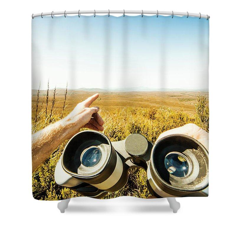 Safari Shower Curtain featuring the photograph Australian Safari by Jorgo Photography - Wall Art Gallery