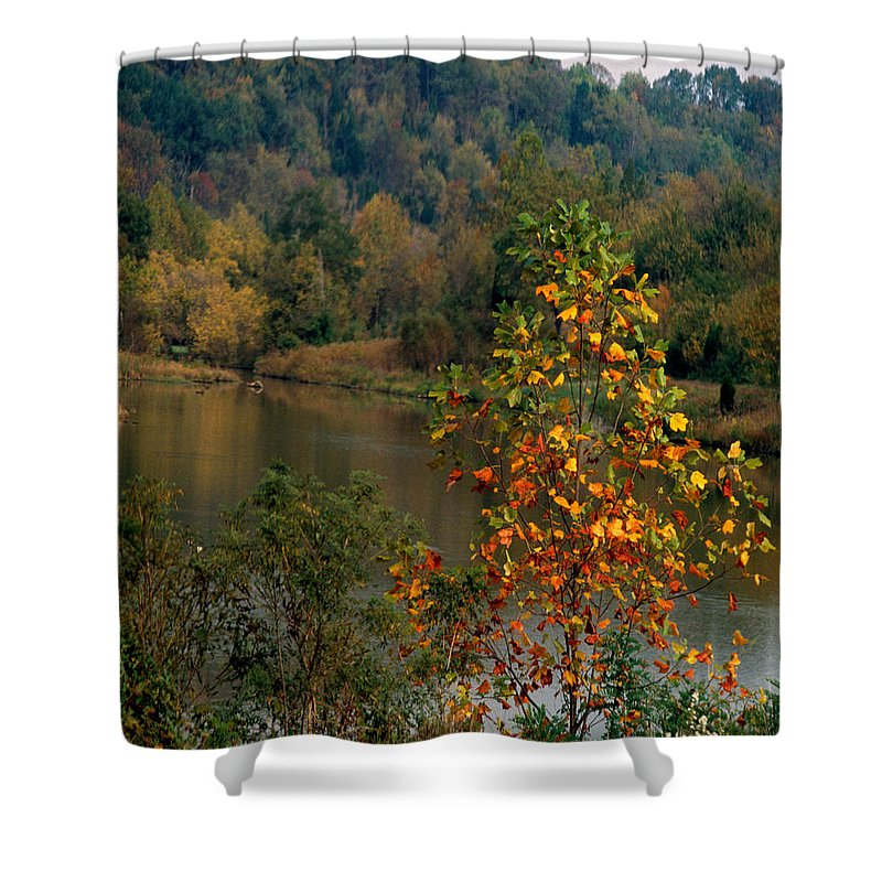 Fall Colors Shower Curtain featuring the photograph Autumn Colors by Gary Wonning