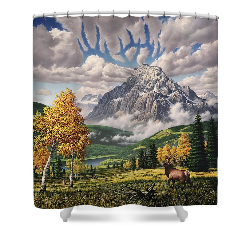 Weasels Shower Curtains