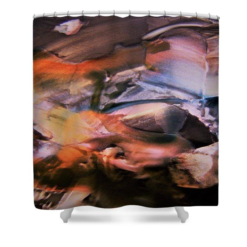 Autumn Shower Curtain featuring the photograph Autumn Fades by Nordan Nielsen