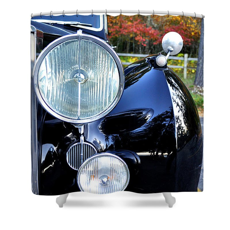 Fall Shower Curtain featuring the photograph Autumn Rolls by Tim Nyberg
