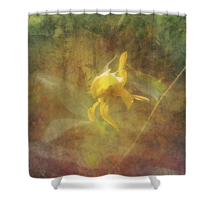 Artwork Shower Curtain featuring the digital art Awaken The Dreamer by Will Jacoby Artwork