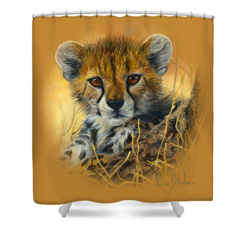 Cheetah Shower Curtains