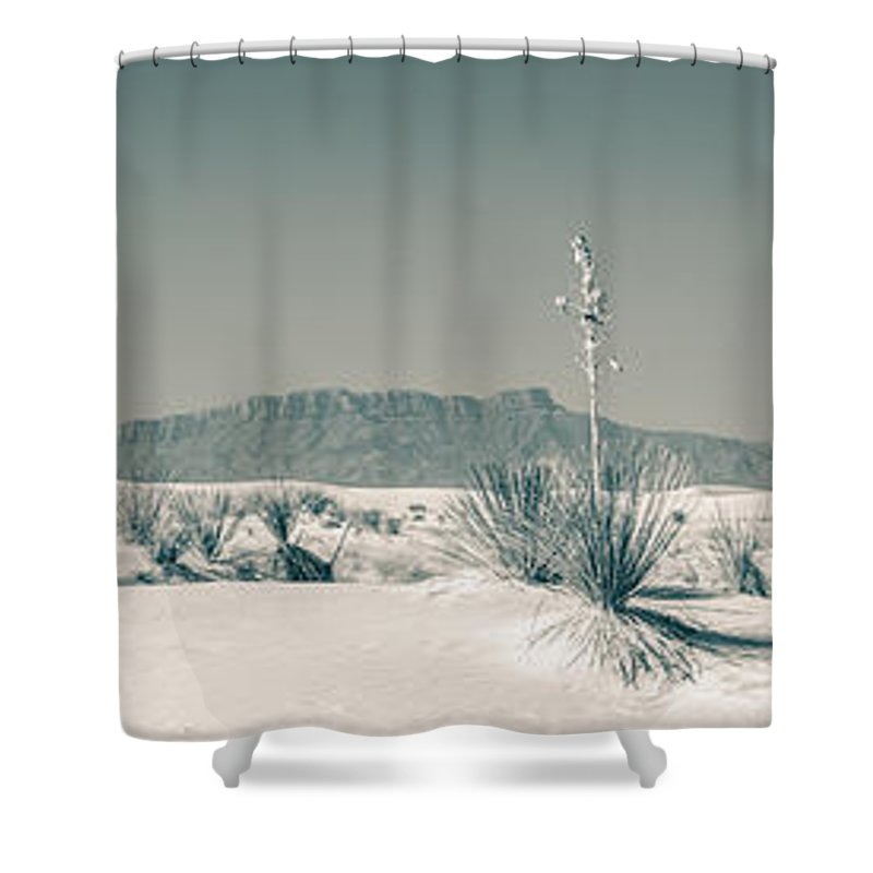 Desert Shower Curtain featuring the photograph Back Country by Racheal Christian