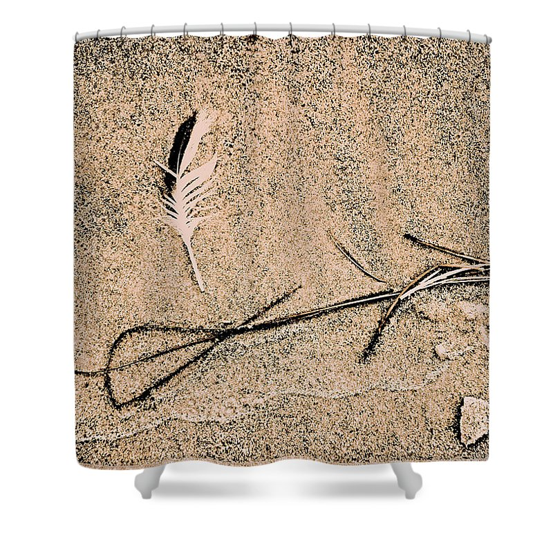 Fine Art Shower Curtain featuring the photograph Back For Ever Zen by Susanne Van Hulst