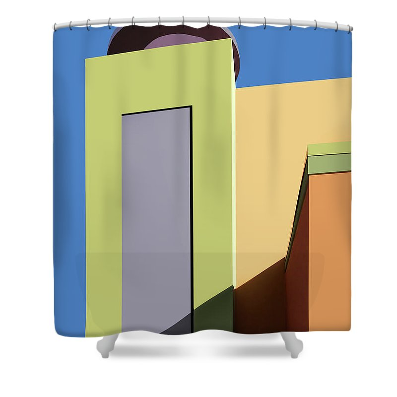 New Mexico Shower Curtain featuring the photograph Back To The Market by Nikolyn McDonald