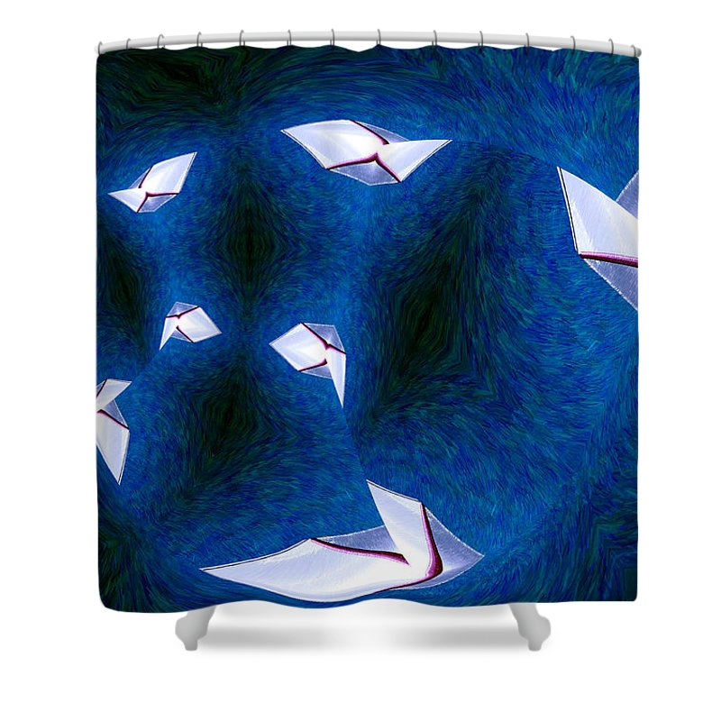 Photography Shower Curtain featuring the photograph Bad Habits by Paul Wear