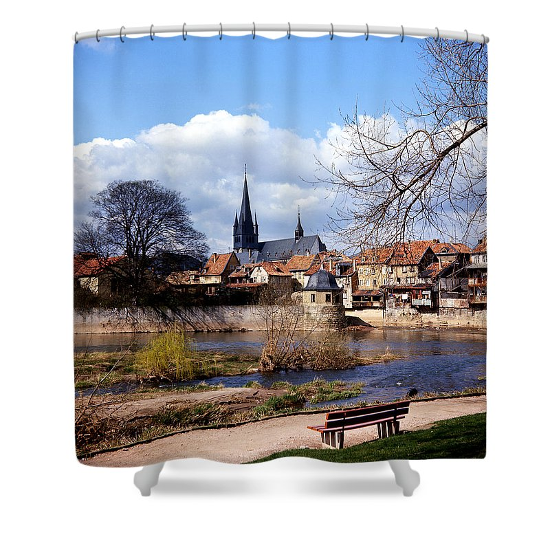 Shower Curtain featuring the photograph Bad Kreuznach 6 by Lee Santa
