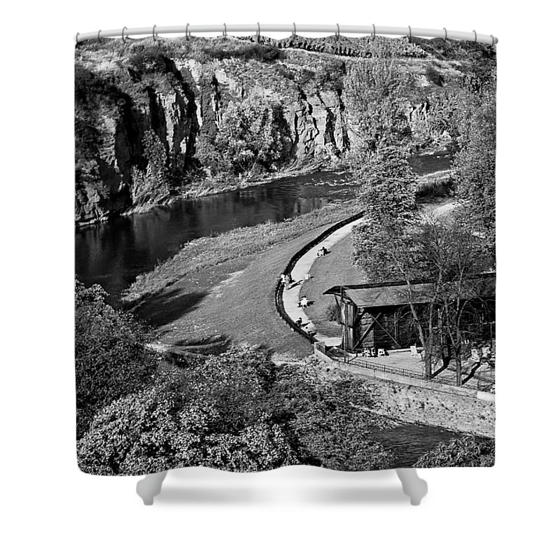 Shower Curtain featuring the photograph Bad Kreuznach 9 by Lee Santa