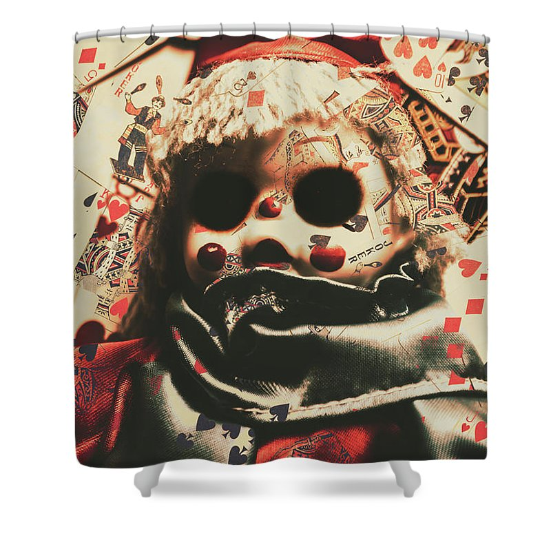 Bad Shower Curtain featuring the photograph Bad Magic by Jorgo Photography - Wall Art Gallery