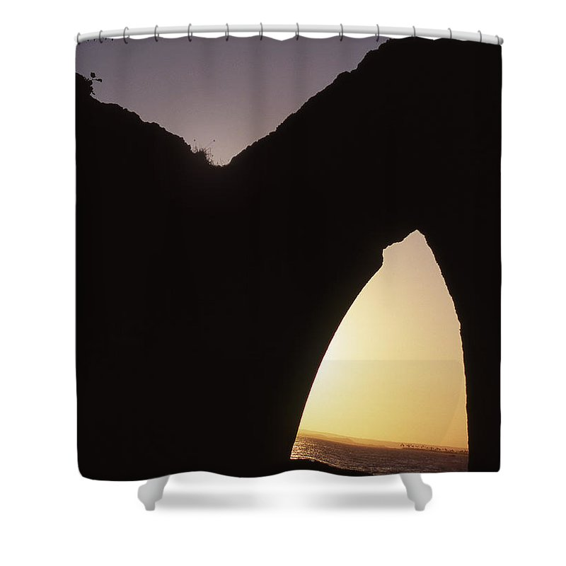 Bahia Shower Curtain featuring the photograph Bahian Sunset by Patrick Klauss