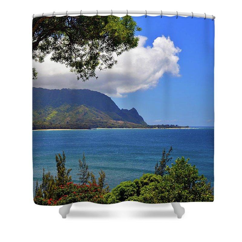 Hawaii Shower Curtain featuring the photograph Bali Hai Hawaii by Marie Hicks