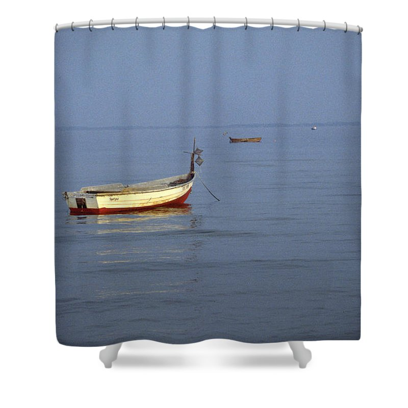Baltic Sea Shower Curtain featuring the photograph Baltic Sea by Flavia Westerwelle