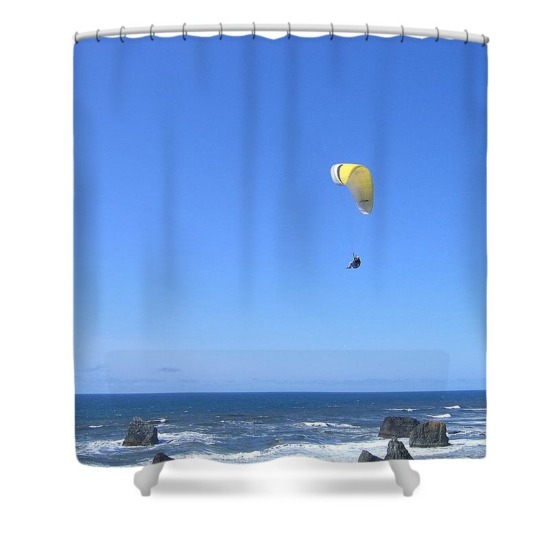 Bandon Shower Curtain featuring the photograph Bandon 10 by Will Borden