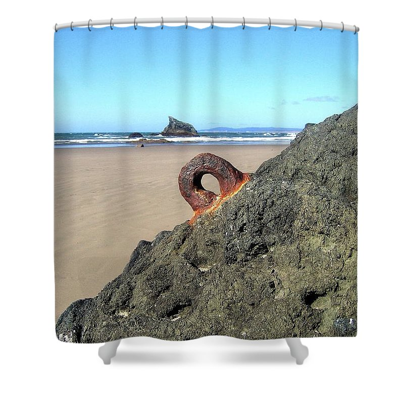 Bandon Shower Curtain featuring the photograph Bandon 34 by Will Borden