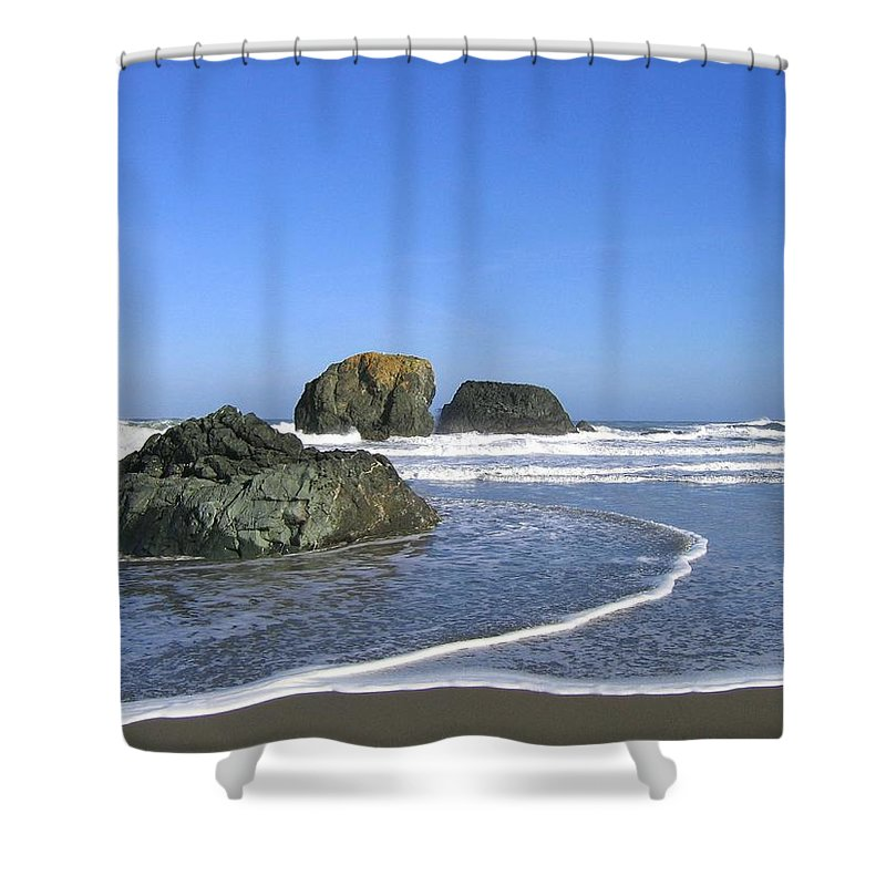 Bandon 5 Shower Curtain featuring the photograph Bandon 5 by Will Borden