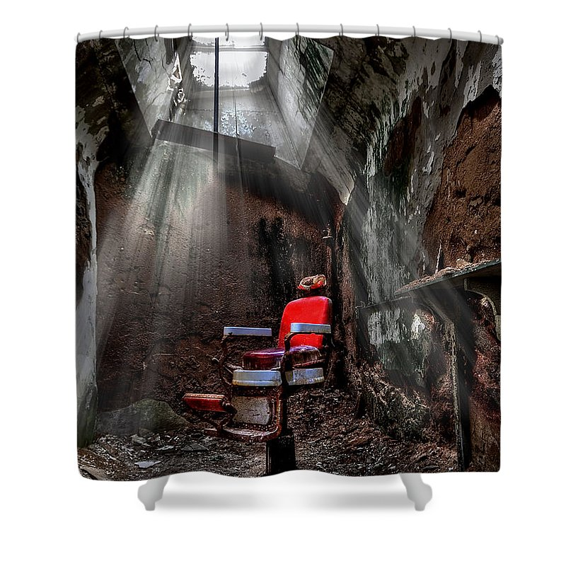 Eerie Shower Curtains