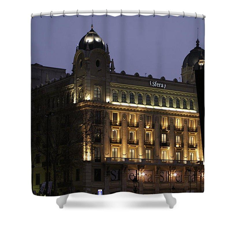 Barcelona Shower Curtain featuring the photograph Barcelona Spain by Henri Irizarri