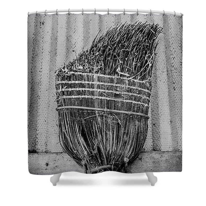 Barn Shower Curtain featuring the photograph Barn Tools 3 by James Aiken