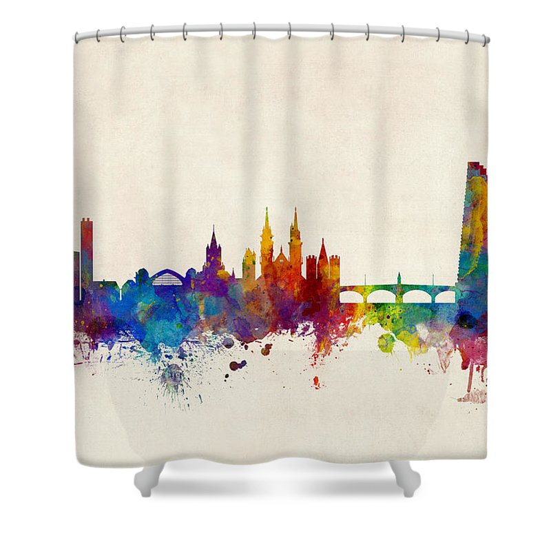 Basel Shower Curtains