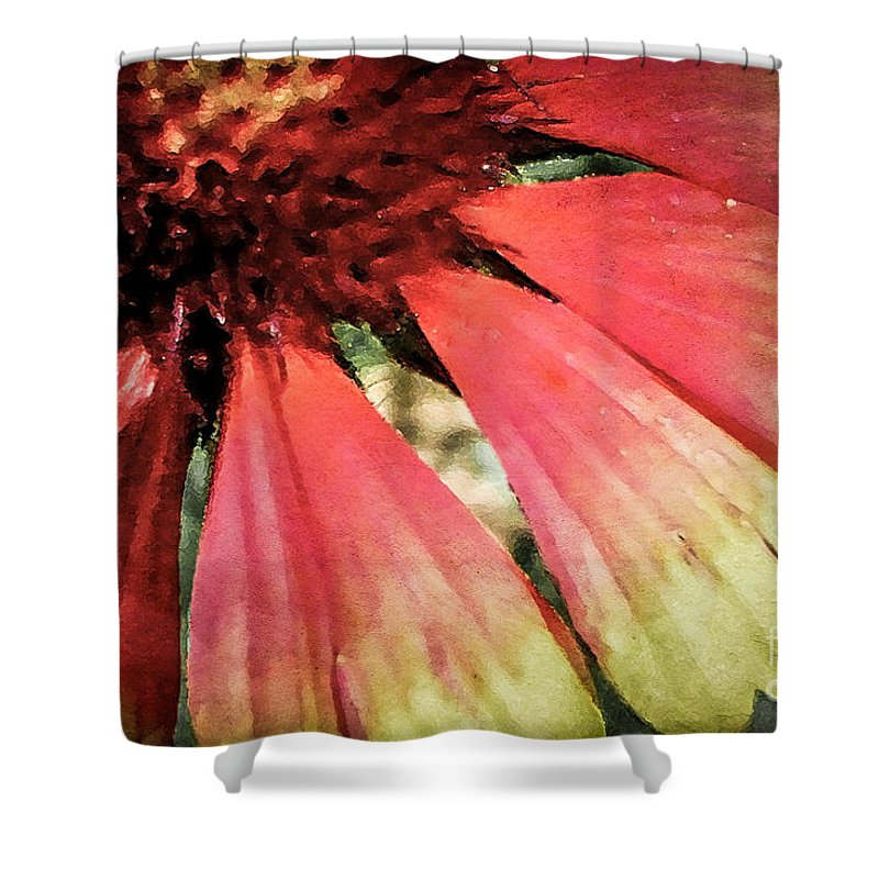 Flora Shower Curtain featuring the photograph Basking In The Sun by Todd A Blanchard