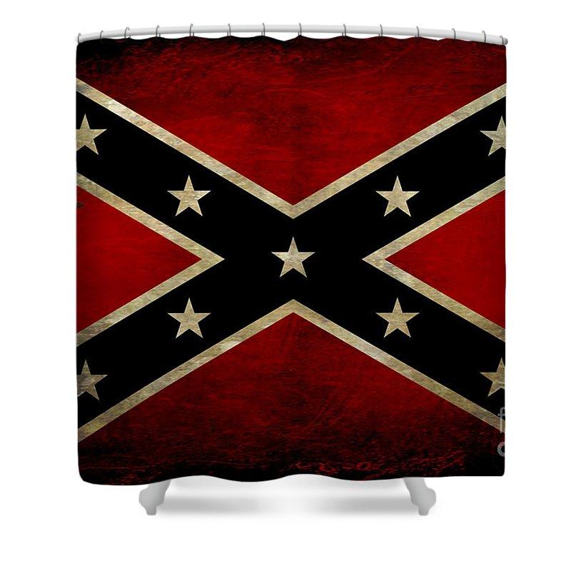 Battle Of Gettysburg Digital Art Shower Curtains