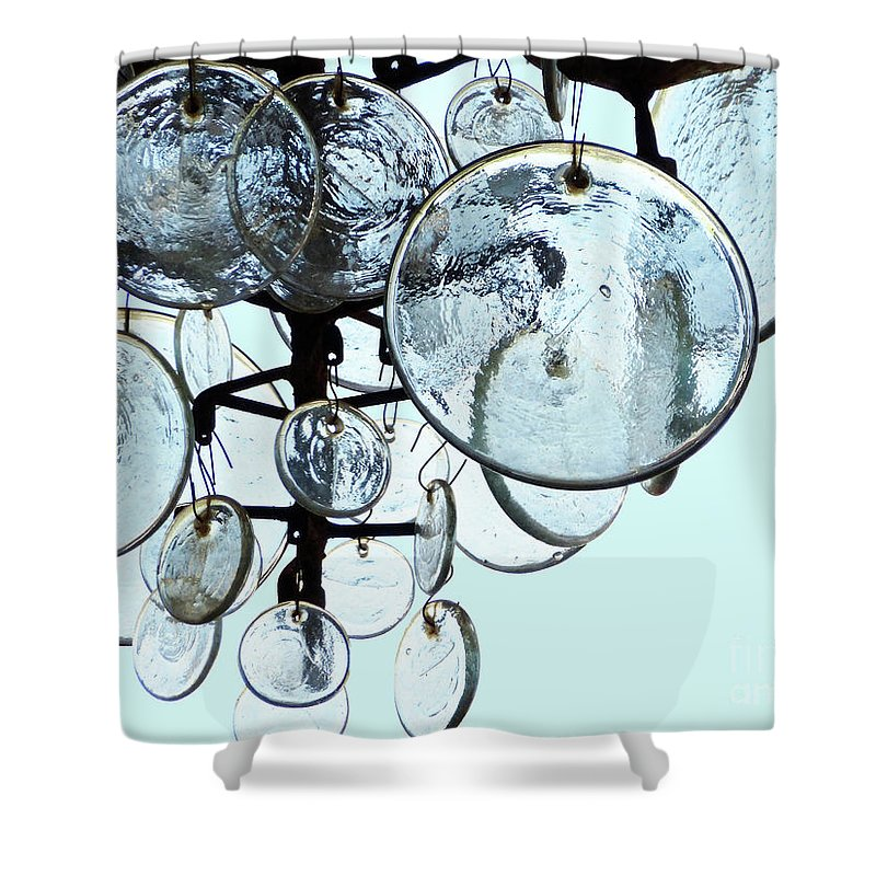 Baubles Shower Curtain featuring the photograph Baubles by Methune Hively